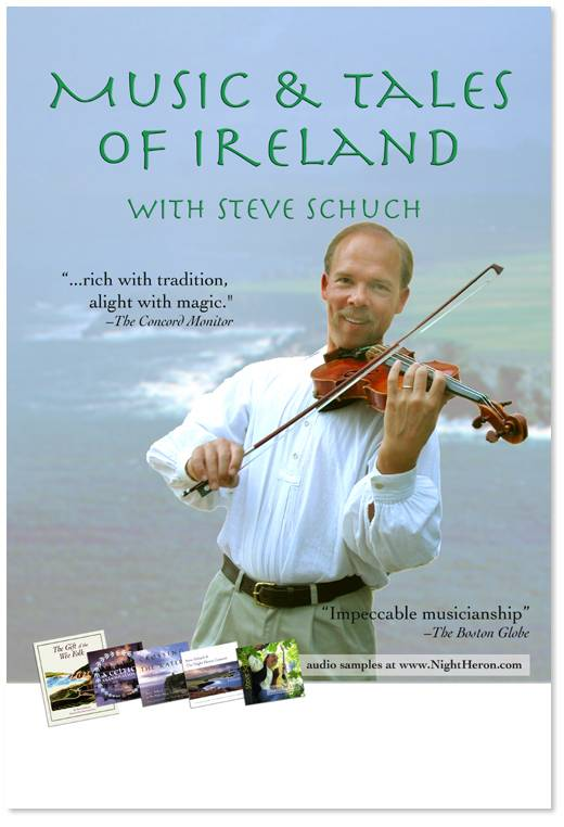 music and tales of Ireland